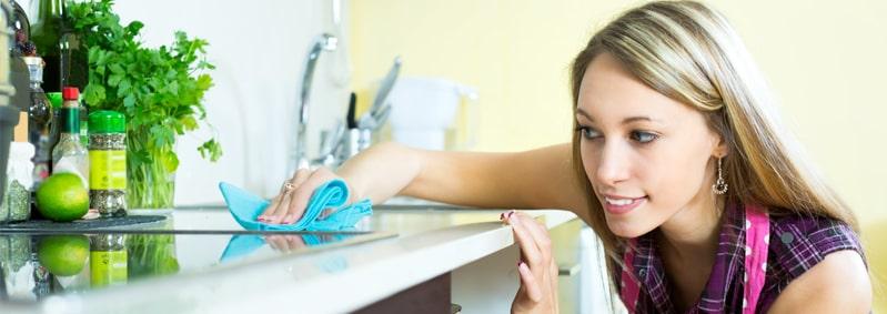 ¿Cómo desinfectar la cocina correctamente?