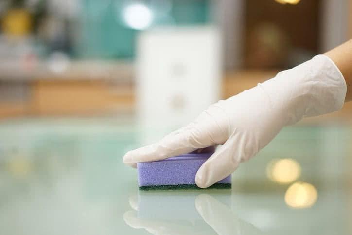 Desinfección de estropajos, trapos y esponjas