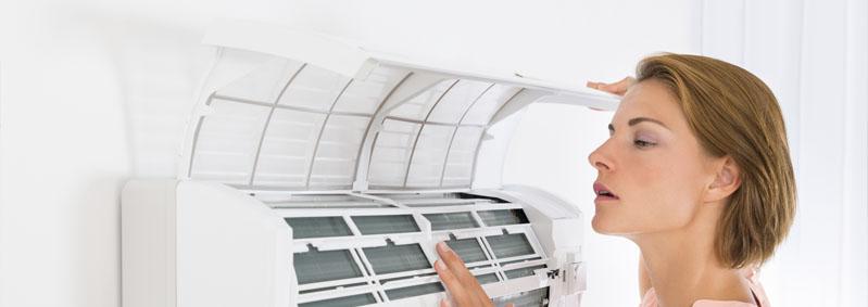 ¿Cómo limpiar los filtros del aire acondicionado?