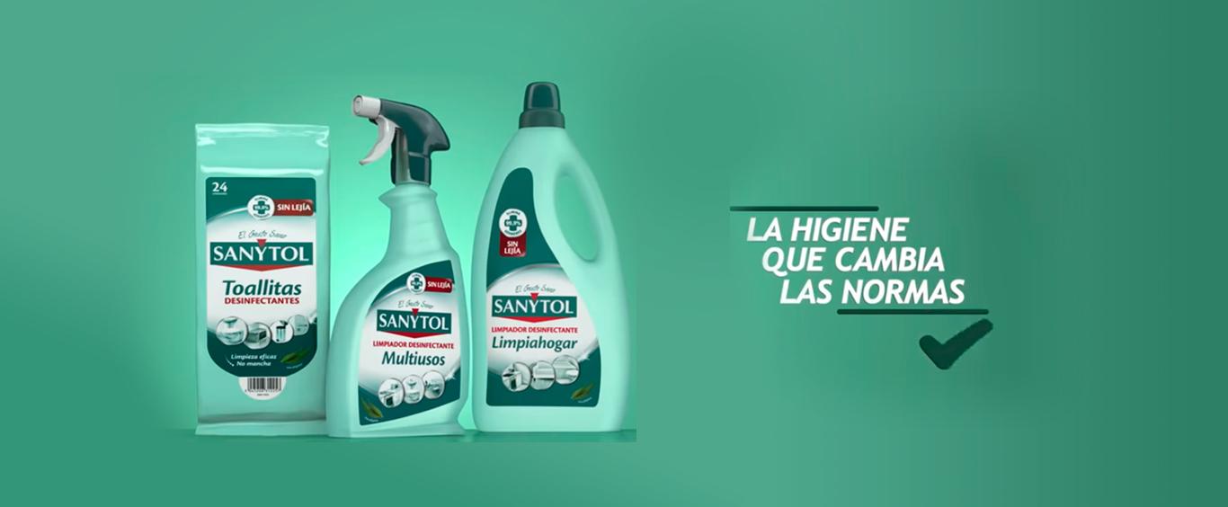Sanytol, la higiene que cambia las normas