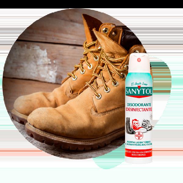calzado sanytol